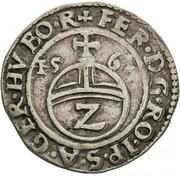 2 Kreuzer - Ferdinand I (Hall) -  obverse