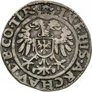 2 Kreuzer - Ferdinand I (Hall) -  reverse