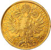 5 Ducat - Maria Theresia (Vienna) -  reverse
