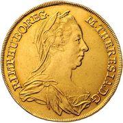4 Ducat - Maria Theresia (Vienna) -  obverse