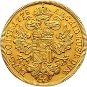 4 Ducat - Maria Theresia (Vienna) -  reverse