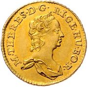 ½ Ducat - Maria Theresia (Vienna) -  obverse