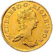 ½ Ducat - Maria Theresia (Vienna) -  obverse