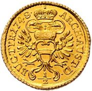 ½ Ducat - Maria Theresia (Vienna) -  reverse