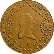 15 Kreutzer - Franz II -  obverse