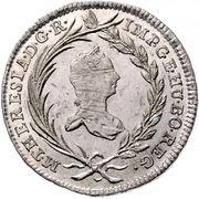 10 Kreuzer - Maria Theresia (Vienna) -  obverse