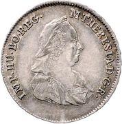 7 Kreuzer - Maria Theresia (Vienna) -  obverse