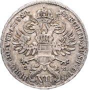 7 Kreuzer - Maria Theresia (Vienna) -  reverse