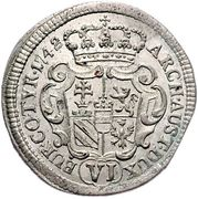 6 Kreuzer - Maria Theresia (Vienna) -  reverse
