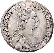 3 Kreuzer - Maria Theresia (Vienna) -  obverse