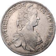 ½ Thaler - Maria Theresia (Graz) -  obverse