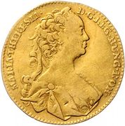1 Ducat - Maria Theresia (Hall) -  obverse