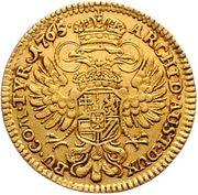1 Ducat - Maria Theresia (Hall) -  reverse