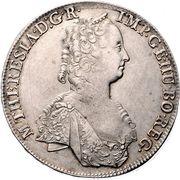 1 Thaler - Maria Theresia (Hall) – obverse