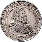2 Thaler - Matthias II (Vienna) -  obverse