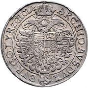 2 Thaler - Matthias II (Vienna) – reverse