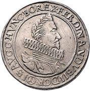 2 Thaler - Ferdinand II (Vienna) – obverse