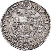 2 Thaler - Ferdinand II (Vienna) – reverse