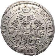 48 Kipper Kreuzer - Ferdinand II (Klagenfurt -St Veit) – reverse