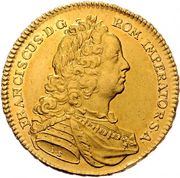 5 Ducats - Franz I (Vienna) -  obverse