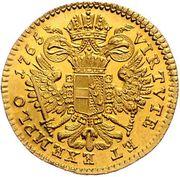 1 Ducat - Joseph II (Regency - Vienna) -  reverse