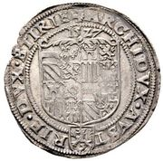 Pfunder - Ferdinand I (Graz) -  reverse