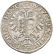 1 Reichsthaler 72 Kreuzer - Ferdinand I (Klagenfurt) -  reverse