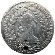 20 Kreuzer - Franz I (posthumous) -  obverse
