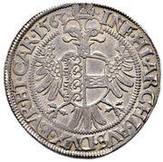 30 Kreuzer ½ Guldenthaler - Ferdinand I (Klagenfurt) -  reverse