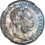 2 Gulden - Franz Joseph I (Kuttenberg mines) -  obverse