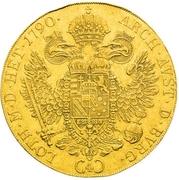 4 Ducats - Leopold II (Vienna) -  reverse