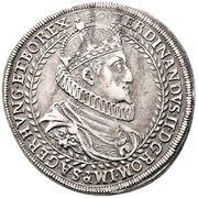2 Thaler - Ferdinand II (Graz) -  obverse