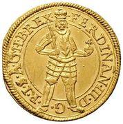 1 Ducat - Ferdinand III (Graz) -  obverse
