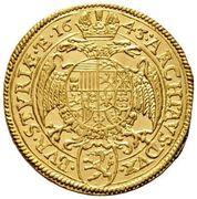 1 Ducat - Ferdinand III (Graz) -  reverse