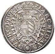 ¼ Thaler - Leopold I (Vienna) -  reverse