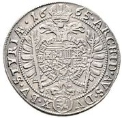 15 Kreuzer - Leopold I (Graz) -  reverse