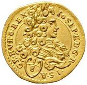 1/8 Ducat - Joseph I (Vienna) -  obverse