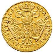 ¼ Ducat - Karl VI (Graz) -  reverse