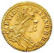 1/8 Ducat - Karl VI (Graz) -  obverse