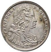 15 Kreuzer - Karl VI (Graz) -  obverse