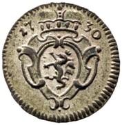 1 Pfennig - Karl VI (Graz) -  obverse