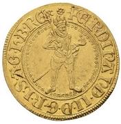 2 Ducat - Ferdinand II (St Veit) -  obverse