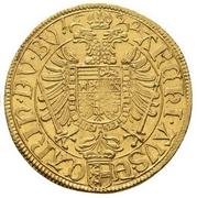 2 Ducat - Ferdinand II (St Veit) -  reverse