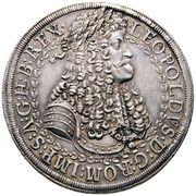 2 thaler Leopold I (Hall) – obverse