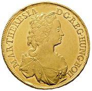 5 Ducat - Maria Theresia (Vienna) -  obverse