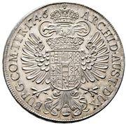 1 Thaler - Maria Theresia (Vienna) -  reverse
