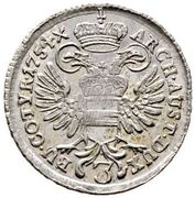 3 Kreuzer - Maria Theresia (Vienna) -  reverse