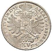 15 Kreuzer - Maria Theresia (Graz) -  reverse