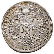 3 Kreuzer - Maria Theresia (Graz) -  reverse