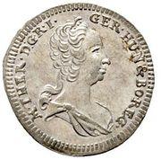 1 Kreuzer - Maria Theresia (Graz) -  obverse